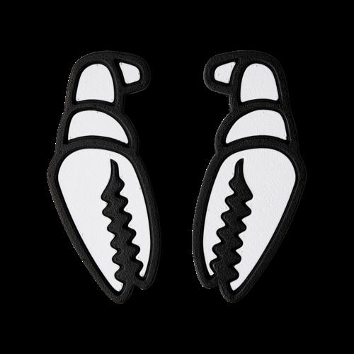 CRAB GRAB Crab Grab Mega Claw (20/21) White Black-Wht OS