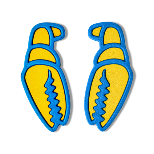 CRAB GRAB Crab Grab Mega Claw (20/21) Yellow Snow-Ylw OS