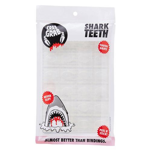 CRAB GRAB Crab Grab Shark Teeth (20/21) Clear-Clr OS