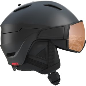 SALOMON Salomon Helmet Driver S Bk/Red/Uni. T.Orange (20/21)