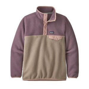 PATAGONIA Patagonia Girls' Lw Synch Snap-T P/O (20/21) Furry Taupe-Fryt