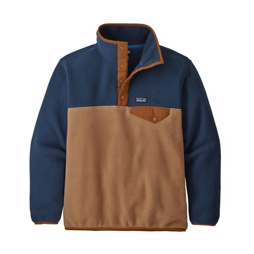 Patagonia Patagonia Boys' Lw Synch Snap-T P/O (20/21) Beech Brown-Bebr *Final Sale*