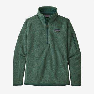 Patagonia Patagonia W'S Better Sweater 1/4 Zip (20/21) Regen Green-Regg *Final Sale*