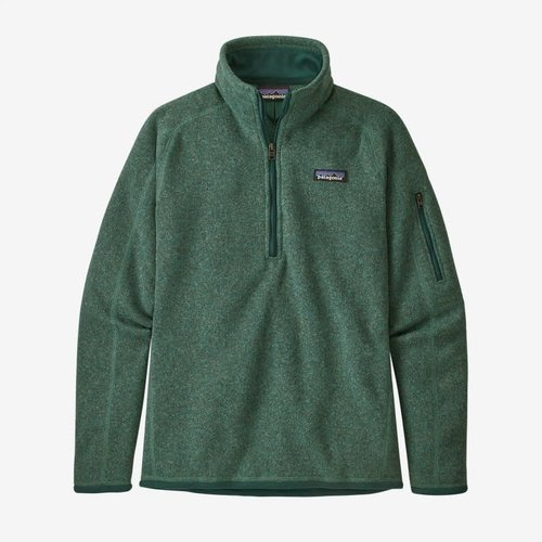 Patagonia Patagonia W'S Better Sweater 1/4 Zip (20/21) Regen Green-Regg *Final Sale*