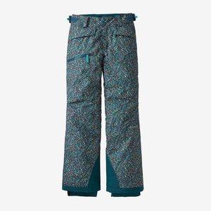 Patagonia Patagonia Girls' Snowbelle Pants (20/21) Barn Dance Multi: Crater Blue-Bmcb *Final Sale*