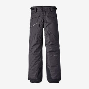 PATAGONIA Patagonia Boys' Snowshot Pants (20/21) Black-Blk