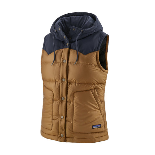 PATAGONIA Patagonia W'S Bivy Hooded Vest (20/21) Nest Brown-Nesb