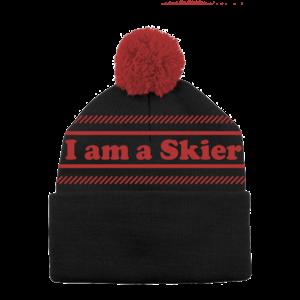 LINE Line I Am A Skier Beanie (20/21) Black 1SZ