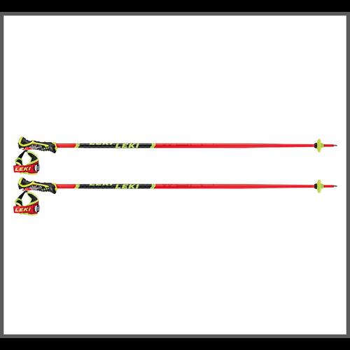 Leki Leki Wcr Tbs Sl 3D (20/21) Neonred *Final Sale*