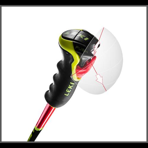 LEKI Leki Wcr Tbs Gs 3D (20/21) Neonred
