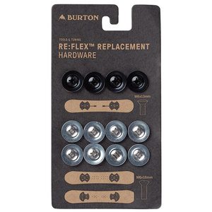 BURTON Burton Re:Flex Replacement Hardware (20/21) Silver-073 NA
