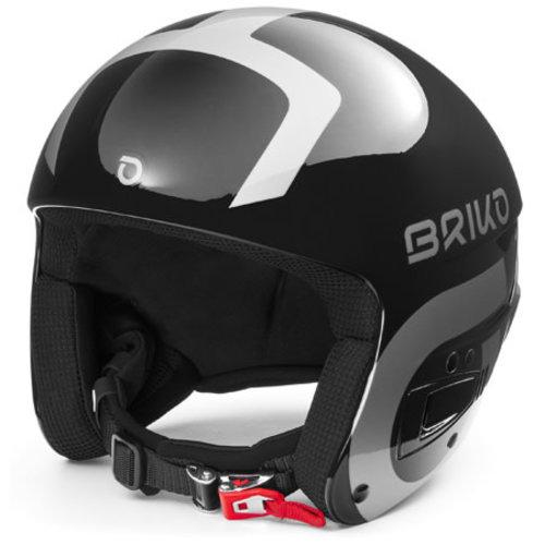 Briko Briko Vulcano Fis 6.8 (20/21) Shiny Black - Silver-A0N *Final Sale*