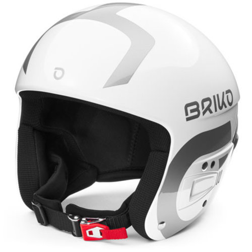 Briko Briko Vulcano Fis 6.8 Junior (20/21) Shiny White - Silver-A0B *Final Sale*