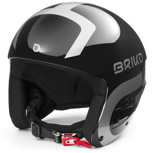 Briko Briko Vulcano Fis 6.8 Junior (20/21) Shiny Black - Silver-A0N *Final Sale*