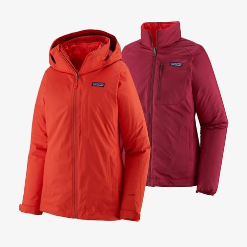 PATAGONIA Patagonia W'S 3-In-1 Snowbelle Jkt (20/21) Catalan Coral-Ccrl
