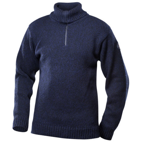 DEVOLD Devold Nansen Sweater Zip Neck (20/21) Dark Blue Melange