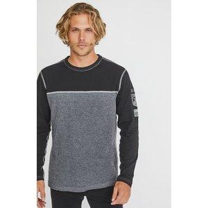 ALP-N-ROCK Alp-N-Rock Ski Patch Crew Shirt (20/21) Black-Blk