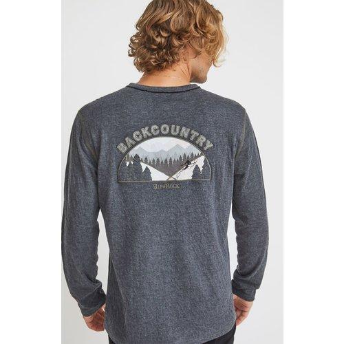 ALP-N-ROCK Alp-N-Rock Back Country Crew Shirt (20/21) Heather Black-Hbk *Final Sale*