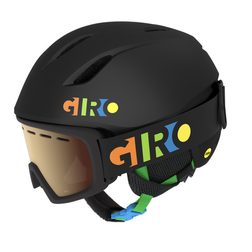 GIRO Giro Launch Cp (20/21) Matte Black/Party Blocks