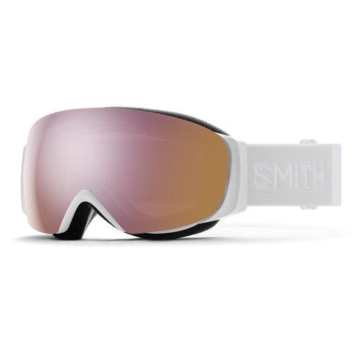 SMITH Smith I/O Mag S White Vapor (20/21) Chromapop Everyday Rose Gold Mirror +Chromapop Storm Rose Flash