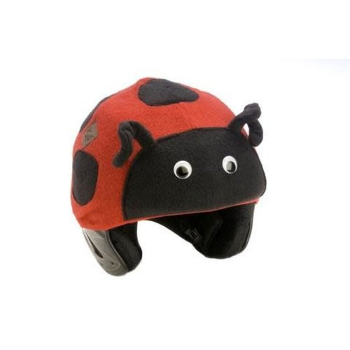 Tail Wags TAIL WAGS LADYBUG HELMET COVER - ADULT *Final Sale*