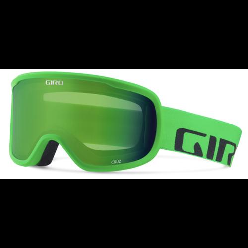 GIRO GIRO CRUZ BRIGHT GREEN WORDMARK-LDN GRN (19/20)