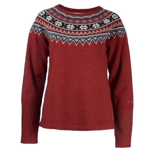 SKHOOP SKHOOP SCANDINAVIAN SWEATER DK RED (19/20) *Final Sale*