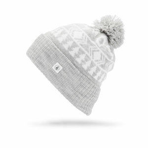 Volcom VOLCOM ARGENTA BEANIE HEATHER GREY-HGR (035)   O/S *Final Sale*