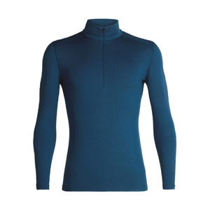 Icebreaker ICEBREAKER MENS 260 TECH LS HALF ZIP PRUSSIAN BLUE-402 *Final Sale*