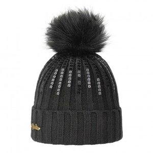 Brekka Brekka Rill Eco Pon Hat -Blk (16/17) O/S *Final Sale*