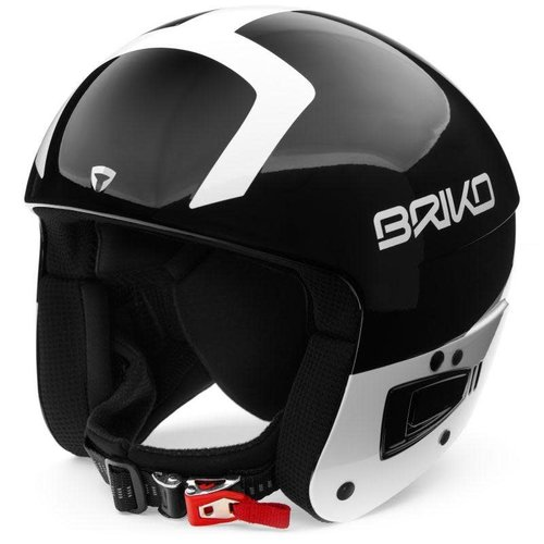 Briko BRIKO VULCANO FIS 6.8 JUNIOR SHINY BLACK WHITE *Final Sale*