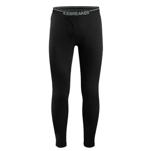 Icebreaker Icebreaker Mens Oasis Leggings W Fly Black -1 (17/18) *Final Sale*
