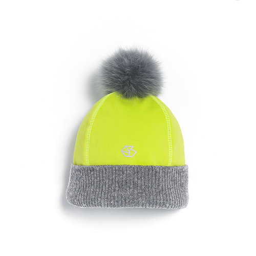 BRUME Brume Womens Tremblant Hat Yellow -47 (17/18) OS