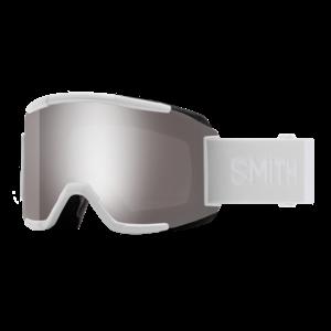 SMITH Smith Squad White Vapor (20/21) Chromapop Sun Platinum Mirror+Yellow