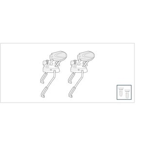 LOOK LOOK L2 PX/AX2 RACING WIDE BRAKE (PAIR)