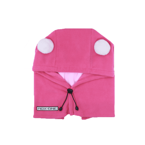 MDXONE Mdxone Balaclava (Over Helmet ) -  Pink (With Pompoms)