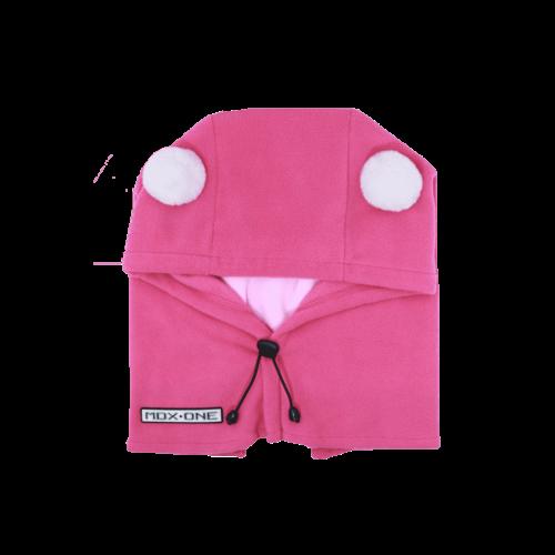MDXONE Mdxone Balaclava (Over Helmet ) -  Pink (With Pompoms)