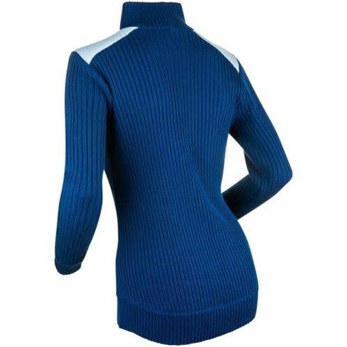 Daehlie Daehlie Half Zip Comfy Wmn (20/21) Cashmere Blue-23515 *Final Sale*