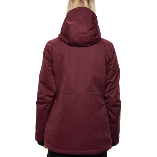 686 686 Women's Rumor Insulated Jacket (20/21) PLUM SLUB-PLM *Final Sale*