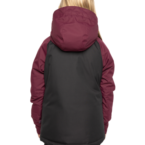 686 686 Youth Girls Dream Insulated Jacket (20/21) PLUM FADE-PLM *Final Sale*