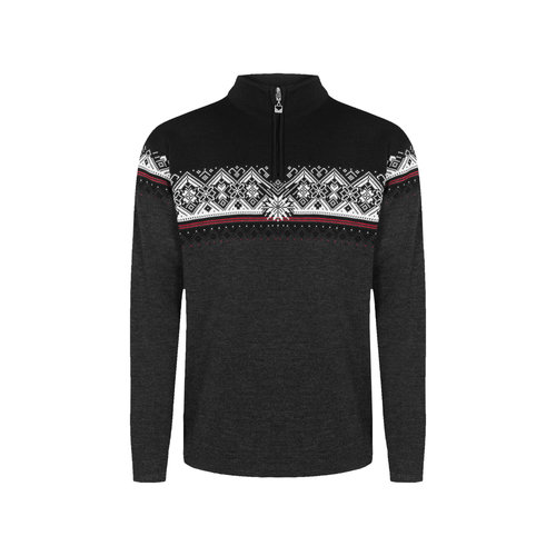 Dale Of Norway Dale Of Norway Moritz Masc Sweater (20/21) Darkcharcoal Raspberry Black -(E) *Final Sale*