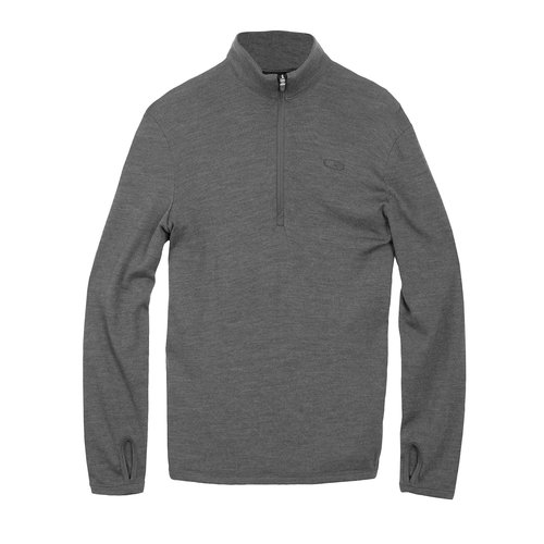 ICEBREAKER Icebreaker Mens Original Ls Half Zip (20/21) Black-1 *Final Sale*