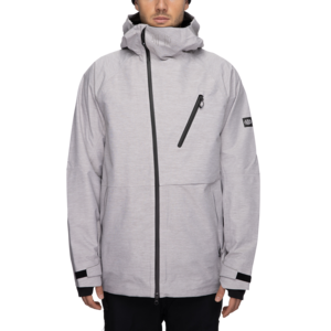 686 686 Glcr Men's Hydra Thermagraph Jacket (21/22) White Heather-Wht