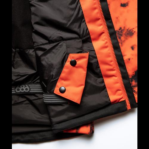 686 686 Men's Foundation Insulated Jacket (21/22) Solar Clrblk-Slrd