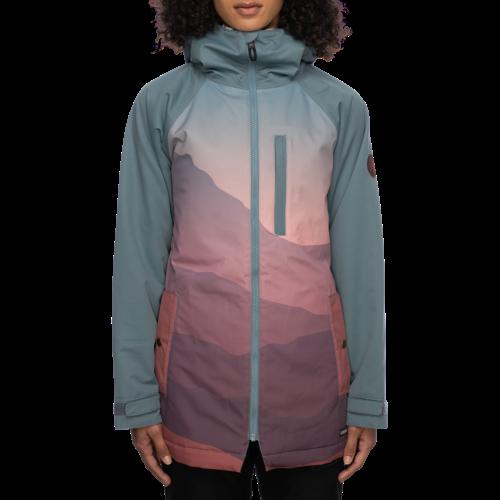686 686 Women's Dream Insulated Jacket (21/22) Goblin Blue Mtn Sunset-Gobl
