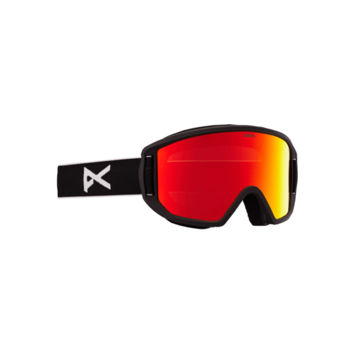 Anon Anon Relapse Jr. Goggle + Mfi Face Mask (21/22) Black / Red Solex-1 NA