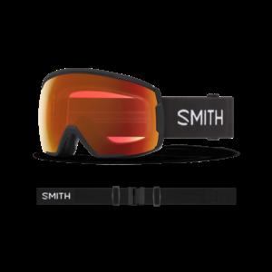 Smith Smith Proxy (21/22) Black || Chromapop Everyday Red Mirror