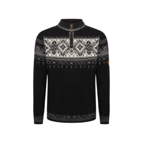 Dale Of Norway Dale Of Norway Blyfjell Sweater (21/22) Black Smoke Offwhite Lgtcharco