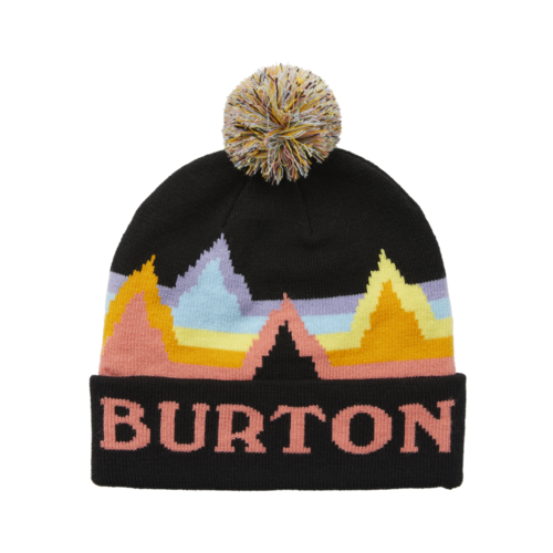 Burton Burton Kids' Echo Lake Beanie (21/22) True Black Rainbow-964 1SZ