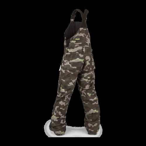 Volcom Volcom Barkley Bib Overall (21/22) Army Camo-Arm